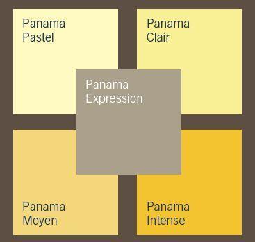 Peinture : 9 Palettes De Couleurs Qui Invitent Au Voyage | Panama