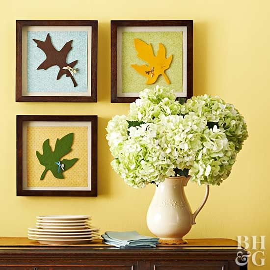 Bring the hues, shapes, and textures of autumn inside with these ...