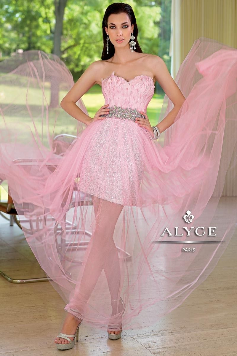 Beautiful pink and bling gown! Alyce Paris at Kathleen\'s Bridal in ...