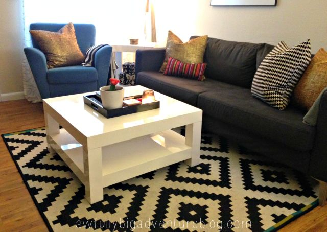 Craigslist West Elm Parsons Coffee Table Awfully Big Adventure
