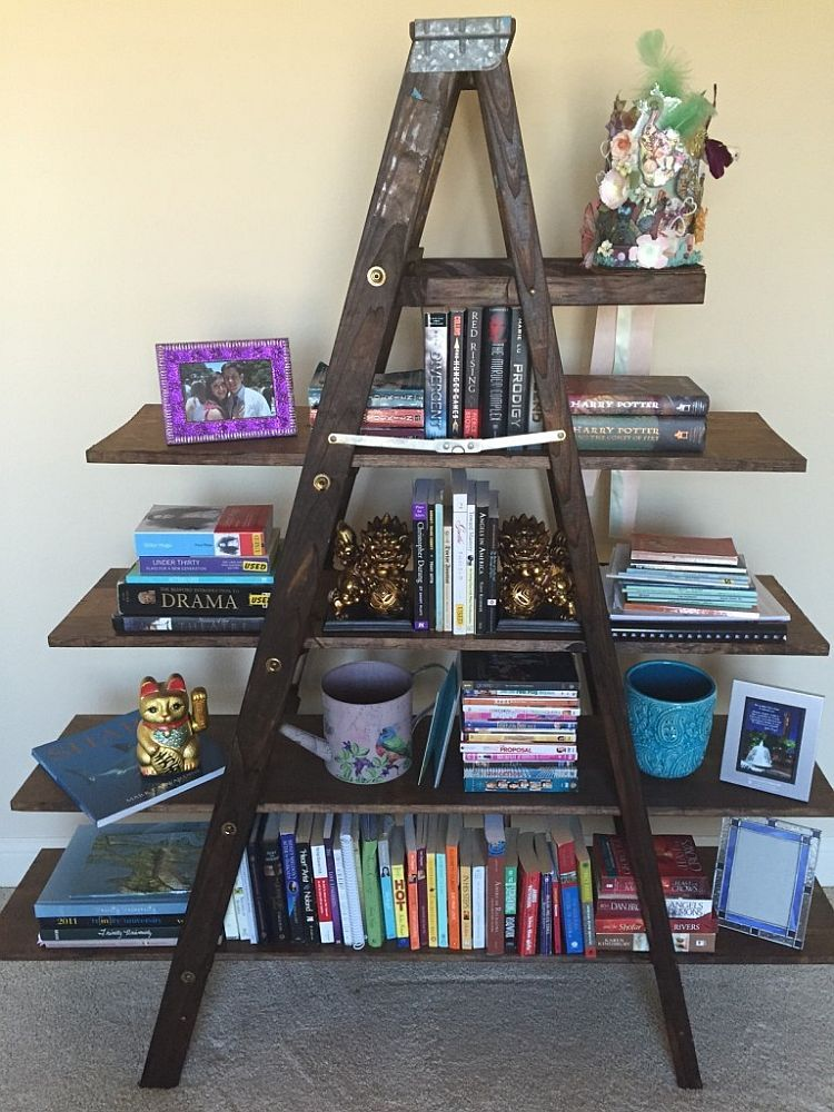 8 simple diy bookshelf ideas diy bookshelf bed frame a