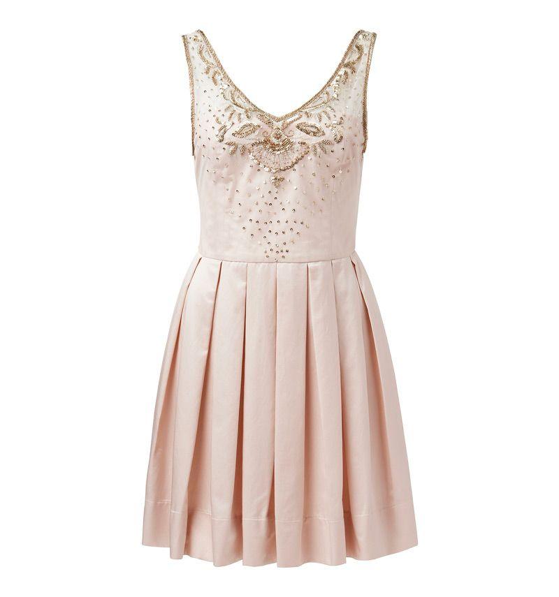 Magie Embellished Bodice Dress - Forever New