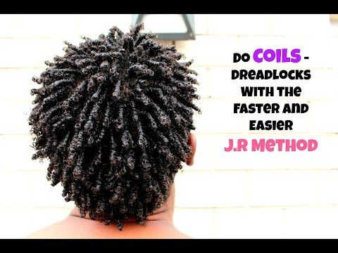 Men Hair How To Coils Dreadlock With The J R Method Fast Easy Natural Hair Men Hair Twist Styles Long Hair Styles Men
