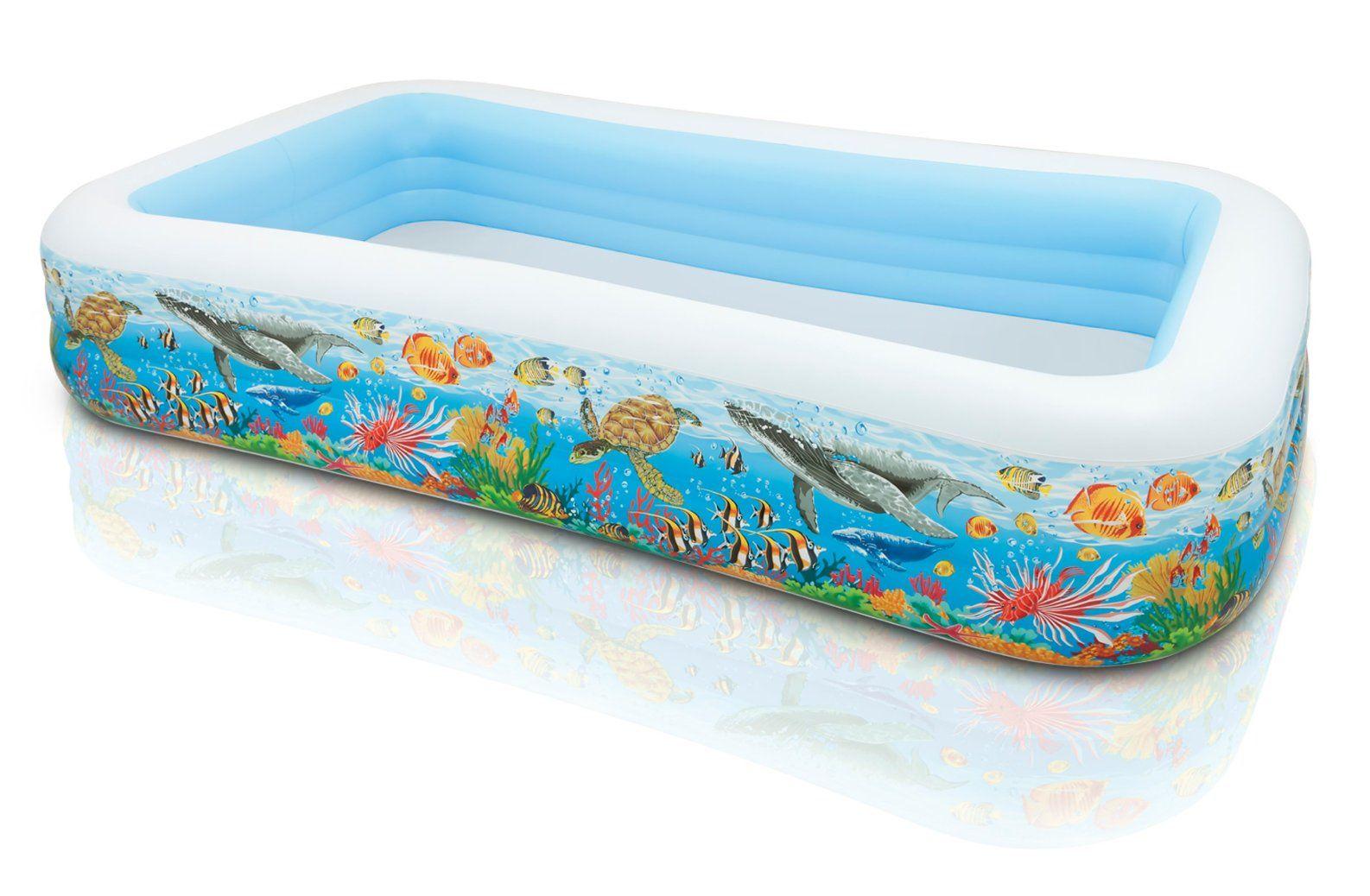 Intex Aufblasbar Rechteckig Mehrfarben Aufstellpool Alter: Schwimmbecken  Tropical Reef Mehrfarbig. Hier Klicken, Um Weiterzulesen. Ihr Onlineshop In