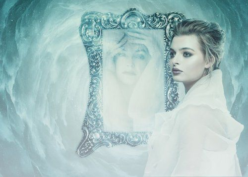 La beauté d'un reflet