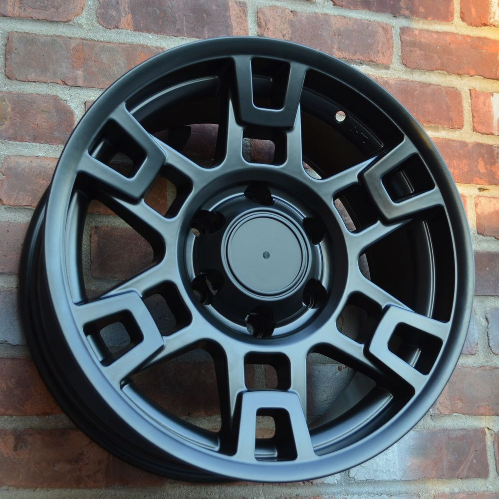Ford Ranger Lug Pattern >> Set of 4 Wheels 17 inch Matt Black Rims TOYOTA TACOMA 2007 ...