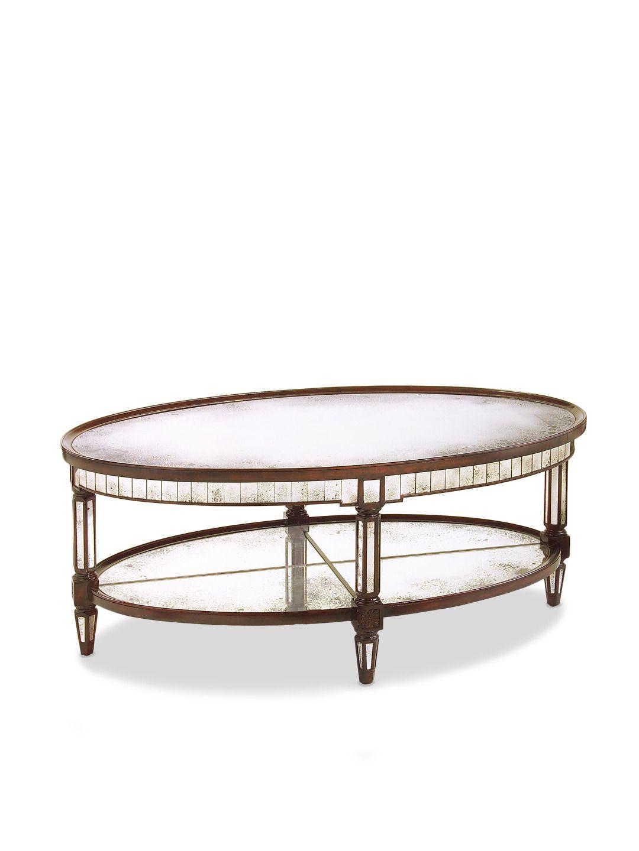 Keswick Oval Cocktail Table by John Richard at Gilt