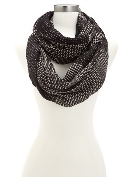 Large Chevron Infinity Scarf: Charlotte Russe