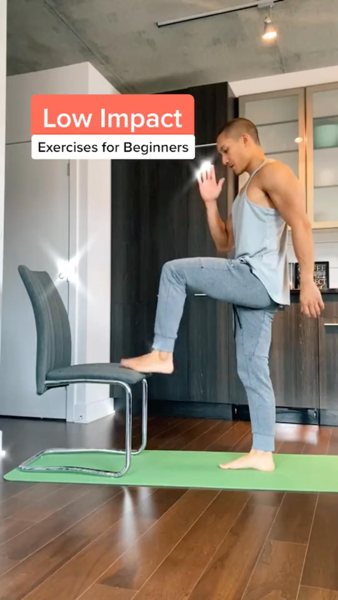 Exercise for Beginner you can do at home!