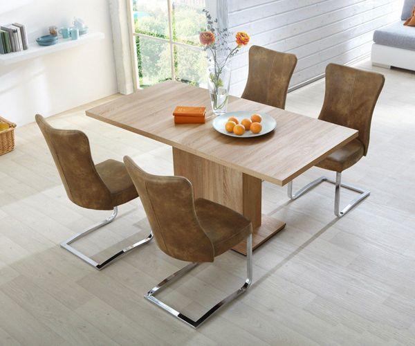 Para espacios peque os juego de comedor sencillo y for Juego de living comedor moderno