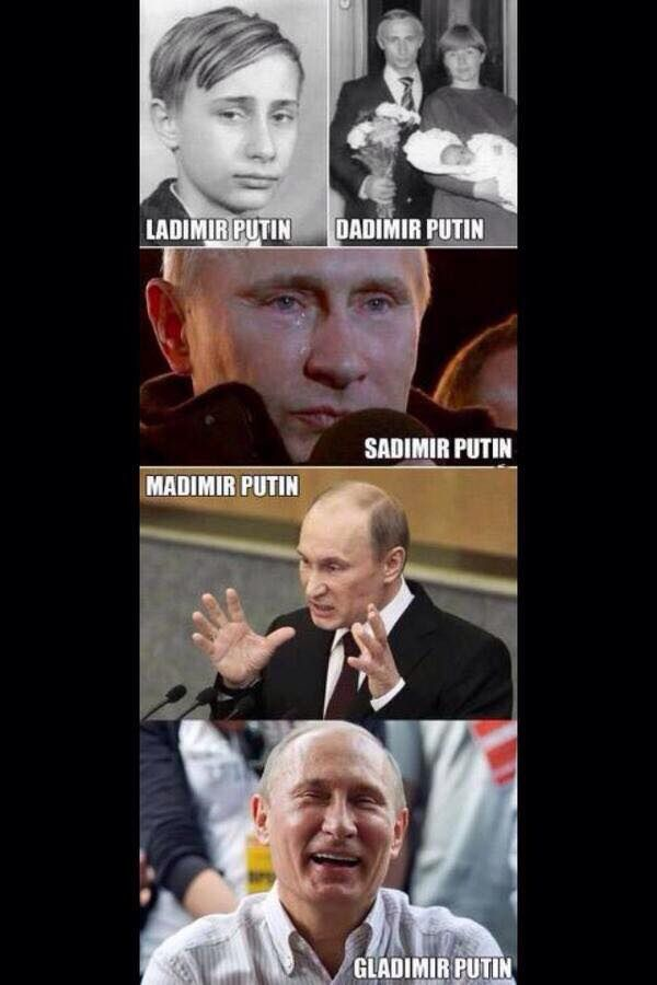 Why are Putin memes the best? :')