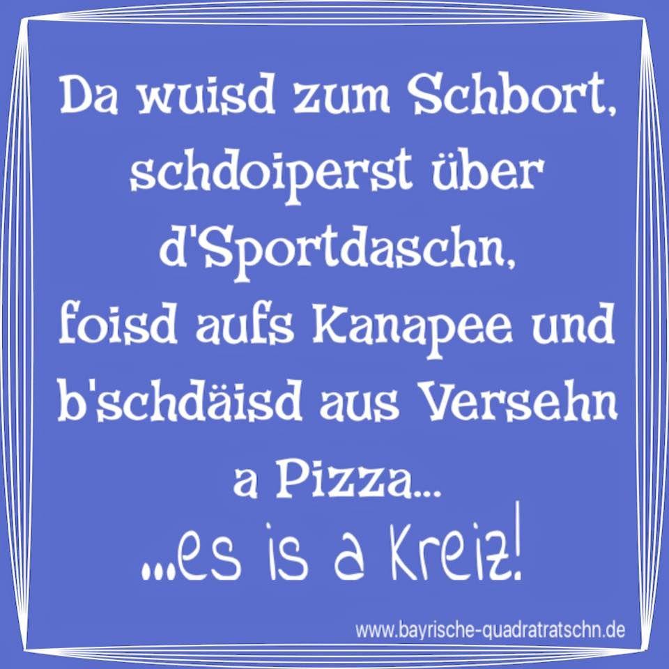 Es Is A Kreiz Sport Sporteln Pizza Faul Munchen Munich