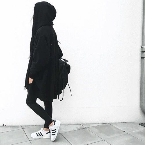 รูปภาพ adidas, black, and superstar