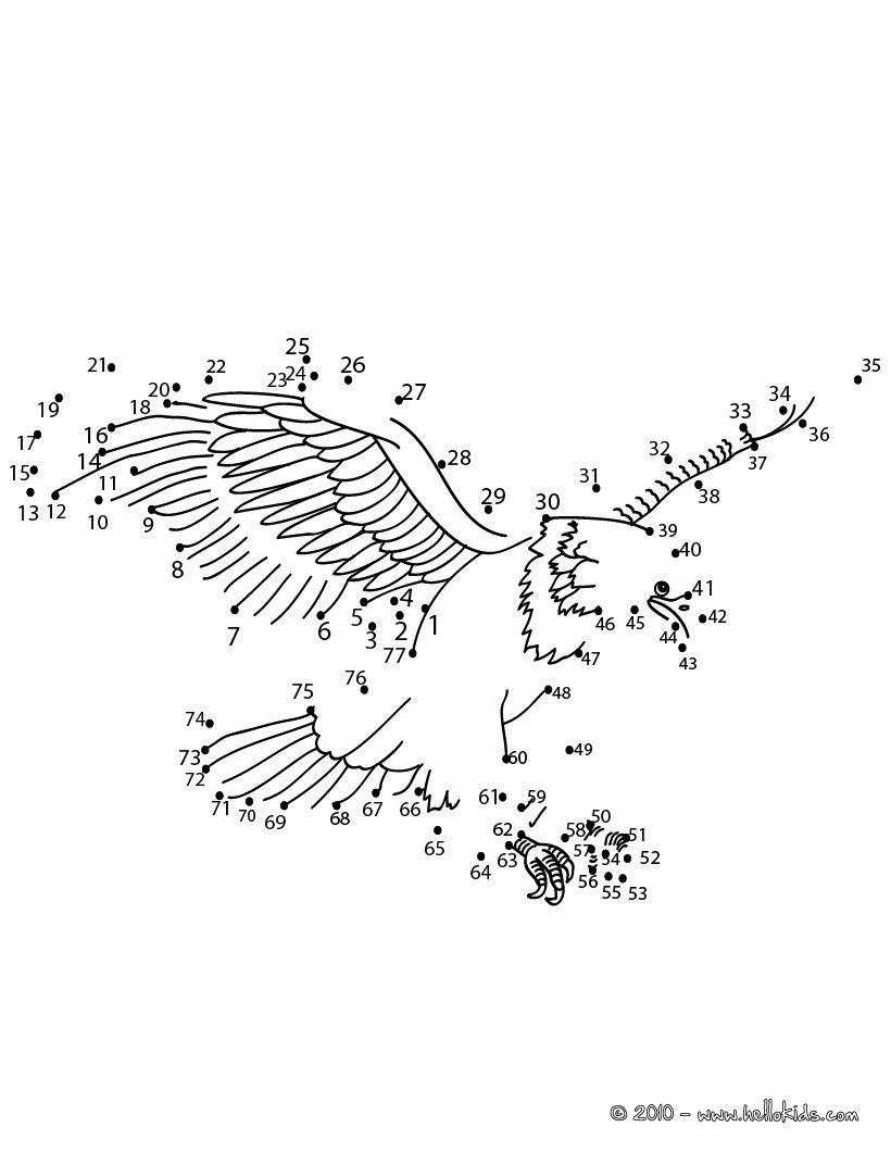 Birds Dot To Dot Google Zoeken Vliegende Vogels Kleuren Vogels