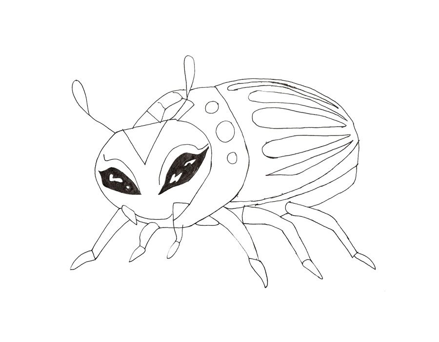 Monster Pets Of Nefera De Nile Coloring Page | Monster High Coloring ...