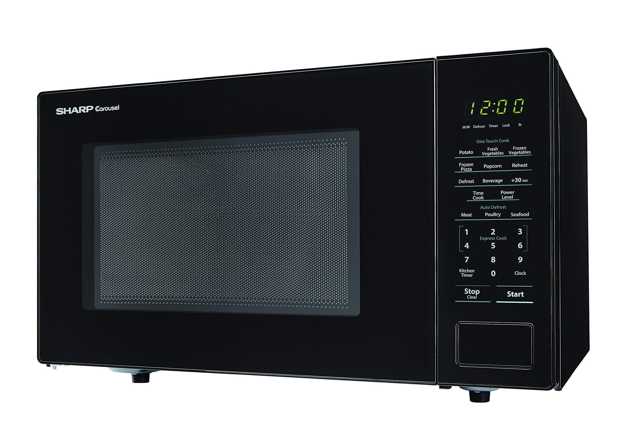 Sharp Microwaves Zsmc1131cb Sharp 1000w Countertop Microwave Oven 1 1 Cubic Foot Black To V Countertop Microwave Oven Countertop Microwave Sharp Appliances