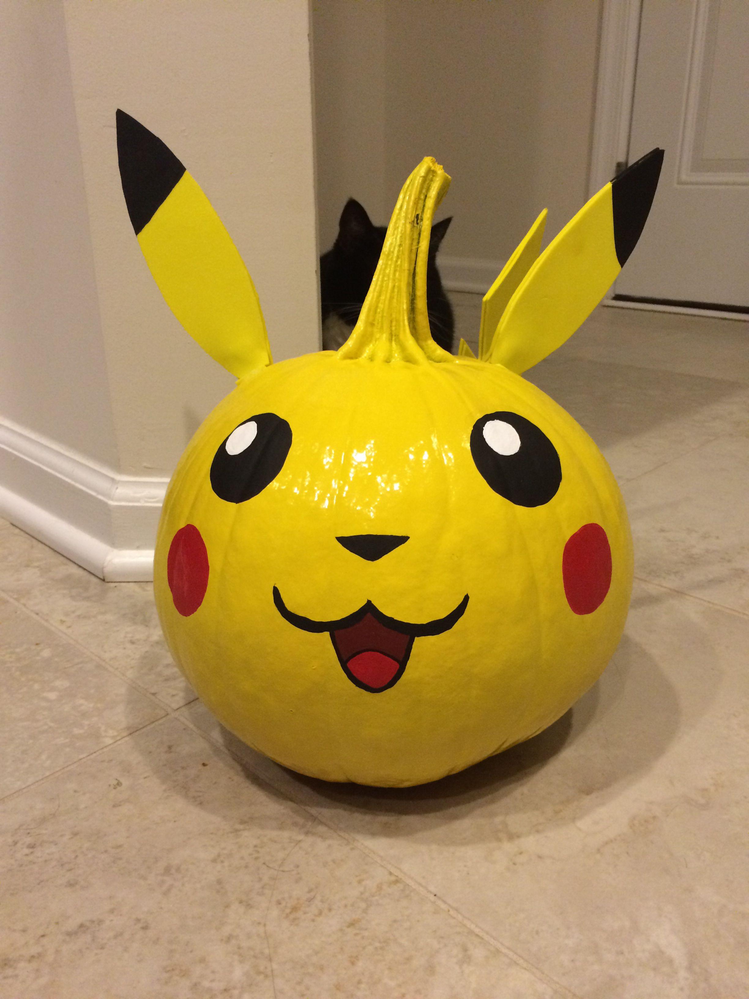 Pikachu pumpkin | citrouille pokémon | Pinterest | Calabazas ...