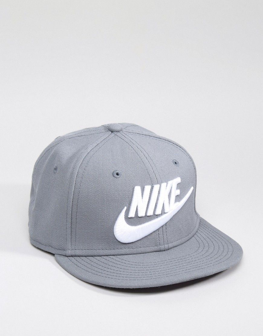 Get this Nike's sports bag now! Click for more details. Worldwide shipping. Nike  Futura Snapback In Grey 584169-067 - Grey: Cap by Nike, Domed crown, ...