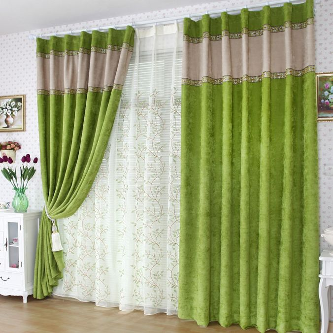 Green Curtains apple green curtains : 17 Best images about Ogotobuy Curtains on Pinterest