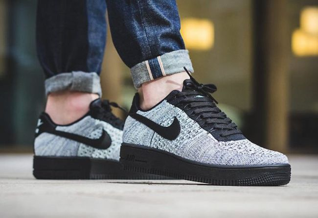 Nike Air Force 1 Ultra Flyknit Low Glacier Blue 817419 The Nike