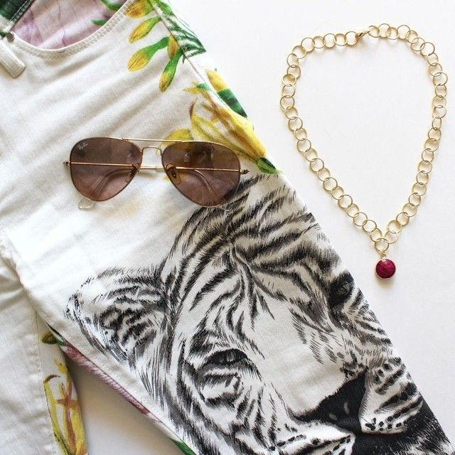WALK ON THE WILD SIDE ‡ be fierce in the Unity necklace (shop at www.sacredjewels.com)
