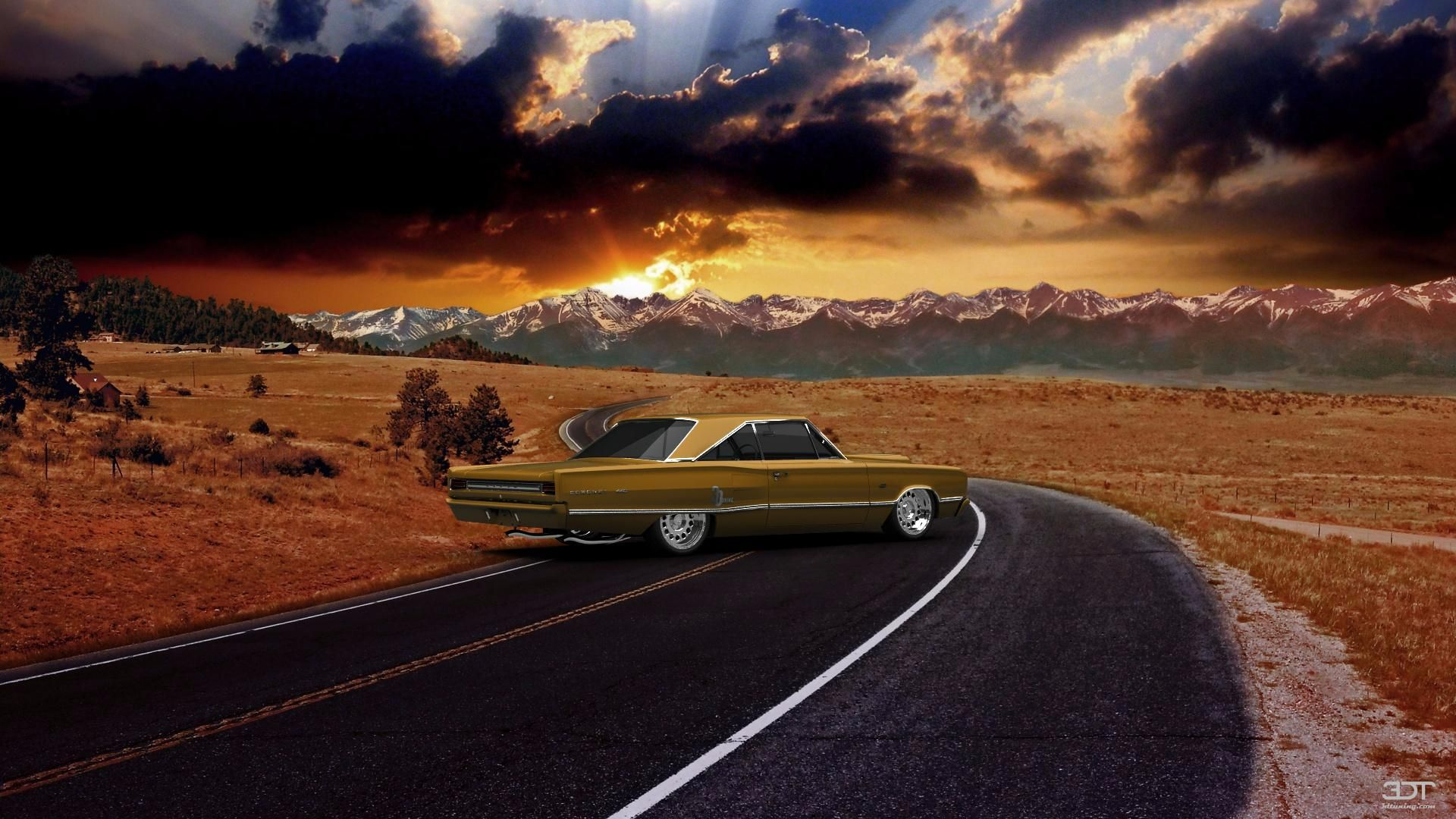 Checkout my tuning Dodge Coronet 1967 at 3DTuning 3dtuning