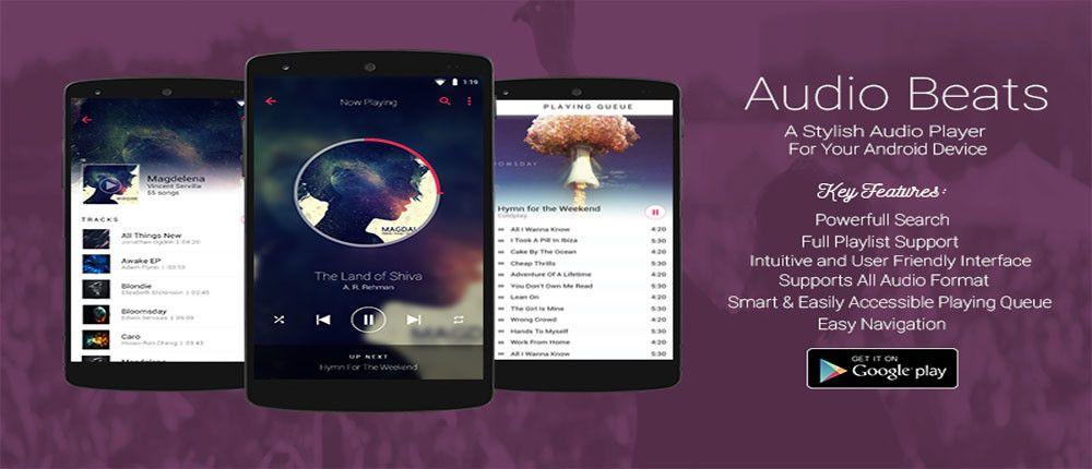 Audio Beats – Music Player Premium Full v4 1 0 Unlocked APP