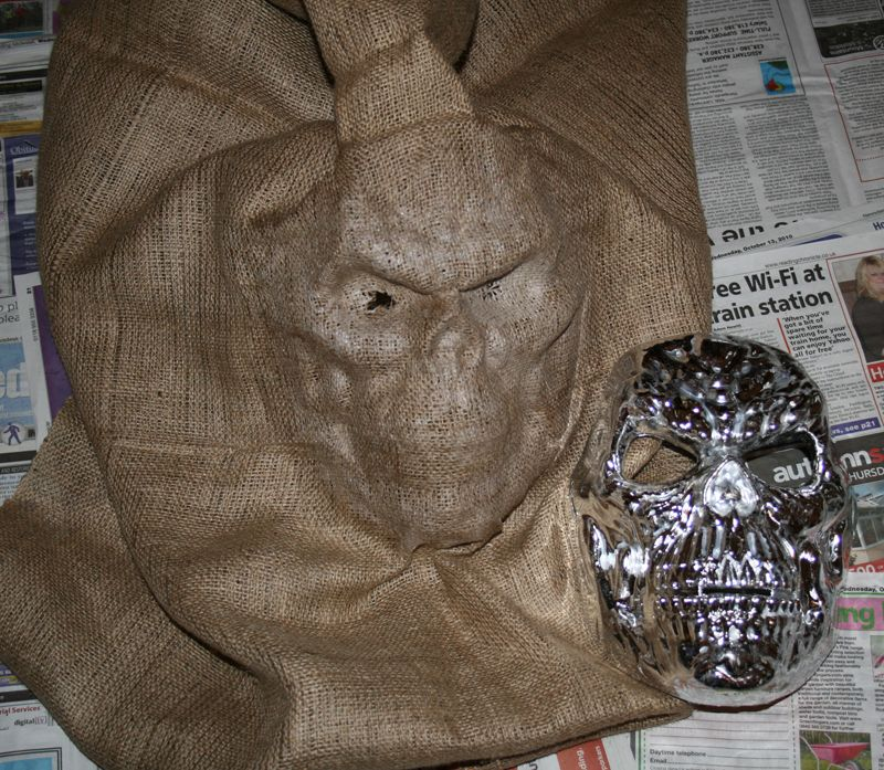 Scarecrow Mask Halloween Pinterest Scarecrow mask
