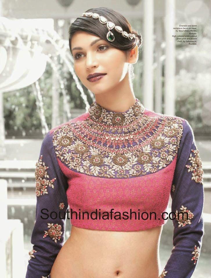 b0a2a7e414a0df Sabyasachi Maharani Blouse Designs ~ Celebrity Sarees