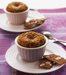 Coconut Velvet Puddings - Smooth and mellow chocolate and coconut delight, best served warm with a dollop of cream. Yum.