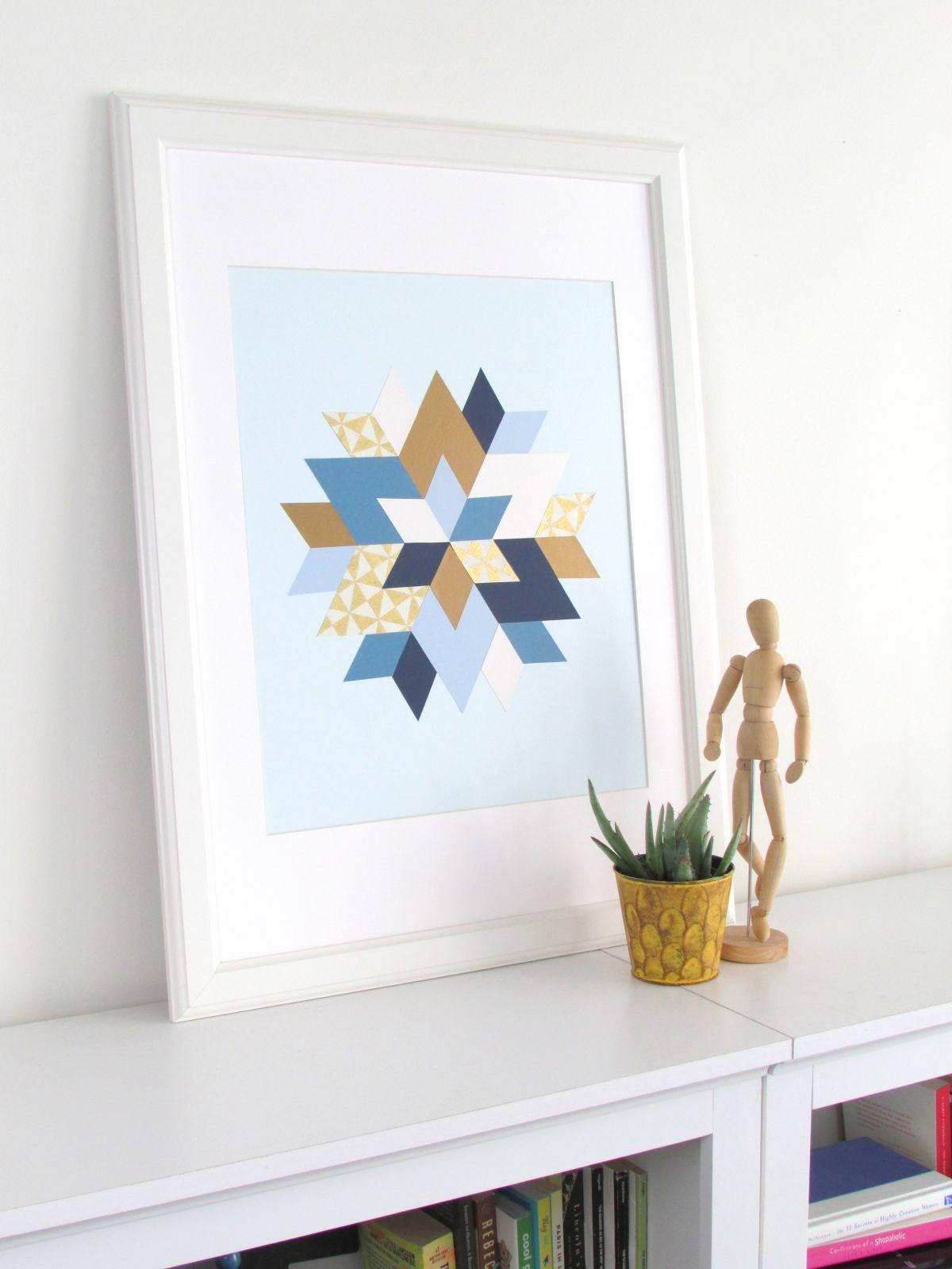 Star of David Wall Art   HomeEdit