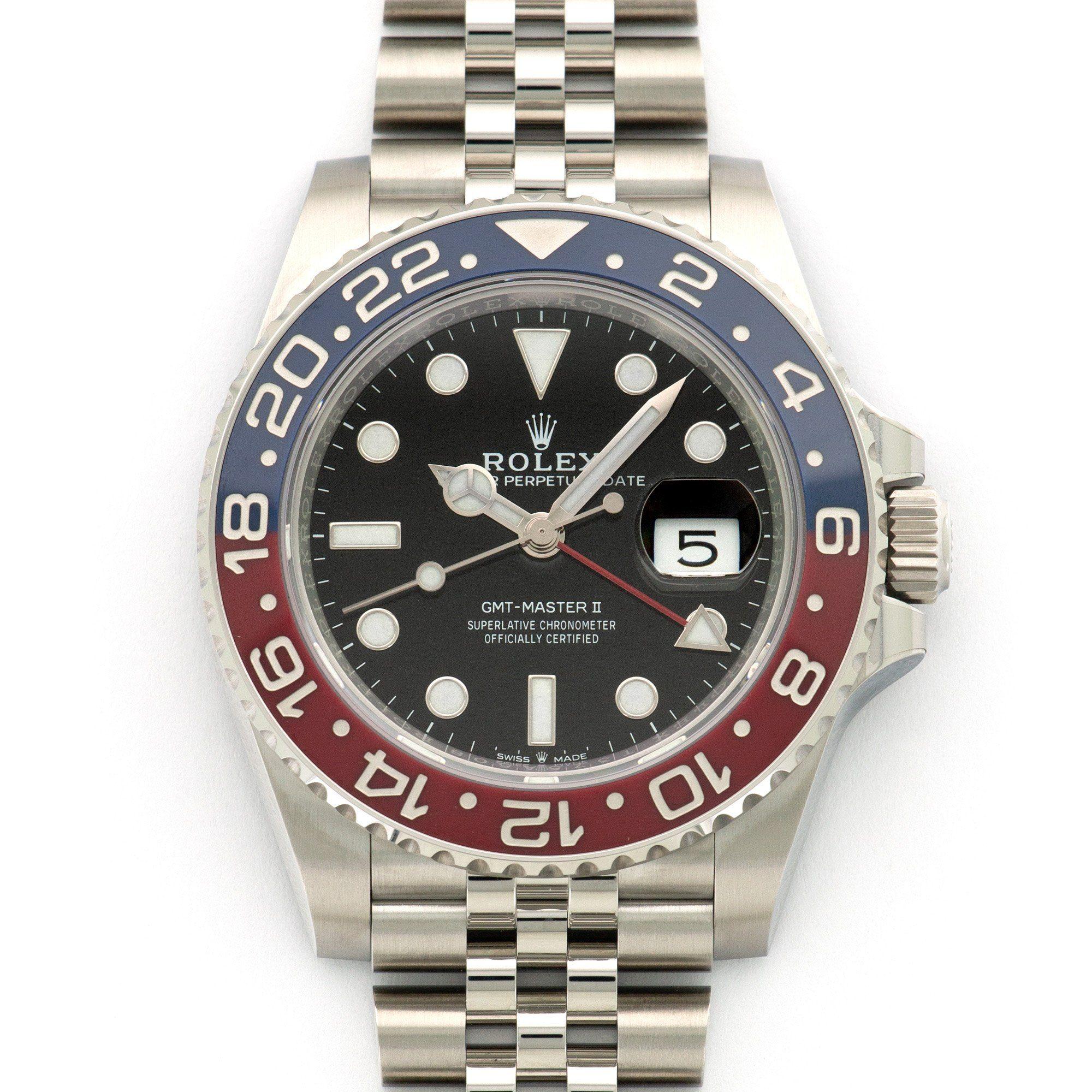 Rolex Gmt Master Ii Ceramic Pepsi Watch Ref 126710 Products Rolex Gmt Master Rolex Gmt Rolex