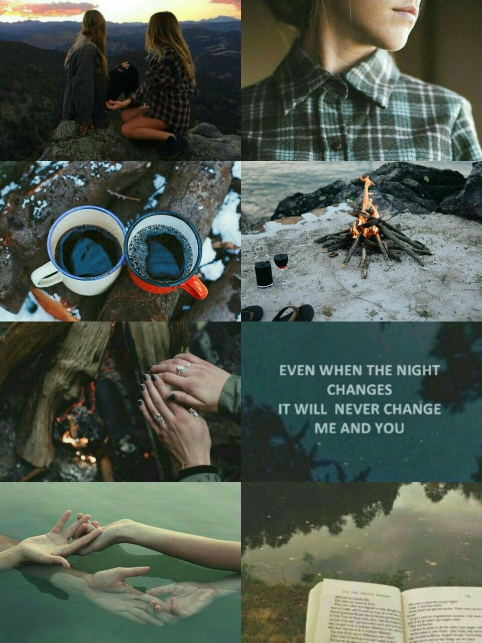 lesbian camping aesthetic | aesthetic boards | pinterest | lesbian