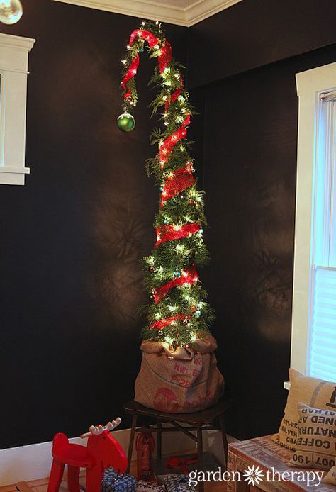 How to Make a Nine-Foot Grinch Tree Large christmas ornaments