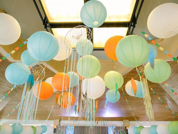 Camp Pow Wow 1st Birthday Party from Kara's Party Ideas. See more at karaspartyideas.com!