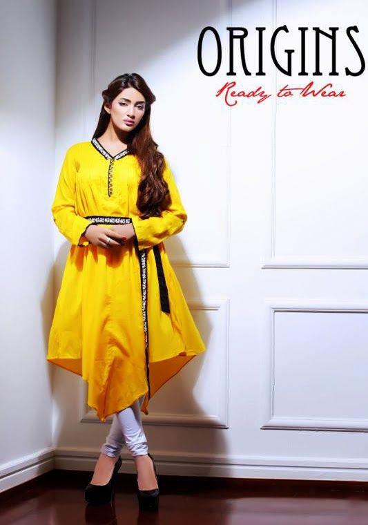 Bold Actress Mathira In Origins Kurtas Photoshoot