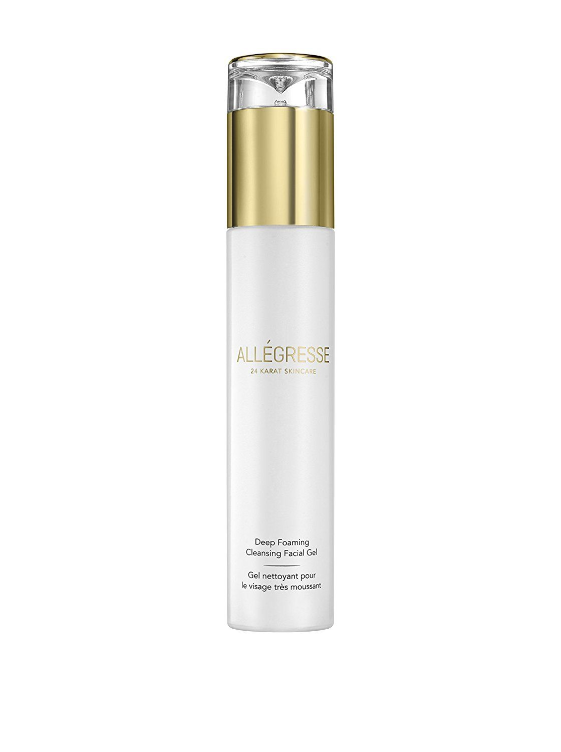 ALLEGRESSE by BIBASQUE 24K Gold Deep Foaming Cleansing Facial Gel * You can get more details by clicking on the image.
