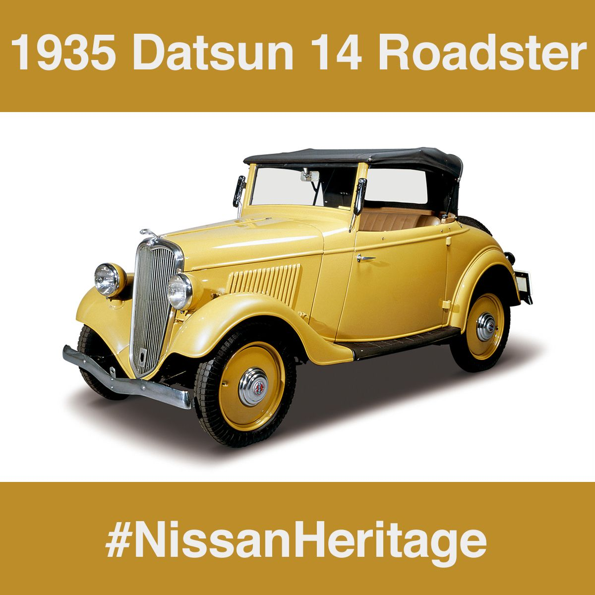 NissanHeritage #MySissonNissan DID YOU KNOW? The first car to come ...