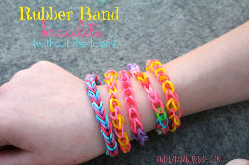 loom band tutorial without loom