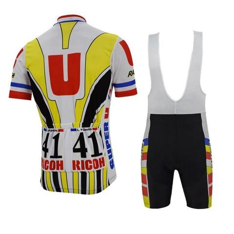 We are proud to provide you the all Systeme U cycling suit that Laurent  Fignon. bfc7d09ee