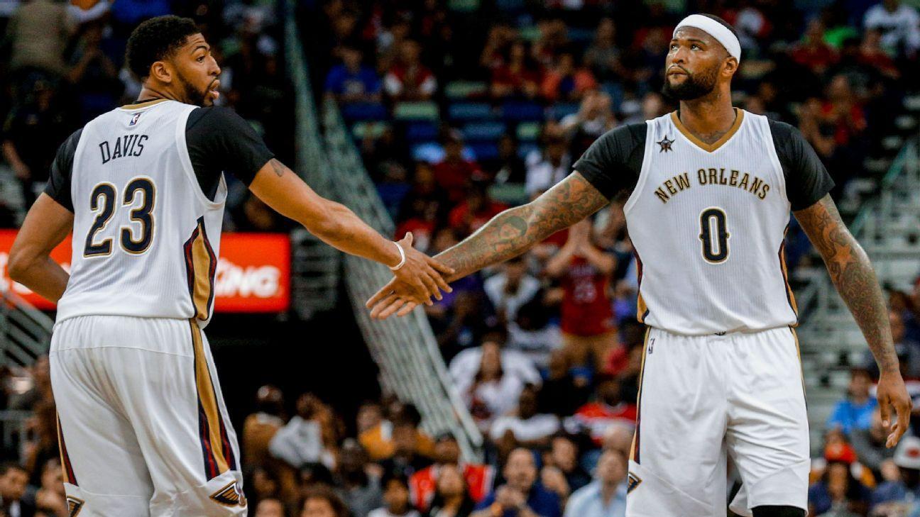 Davis Pelicans A Finals Team If Cousins Healthy Anthony Davis New Orleans Pelicans Davis