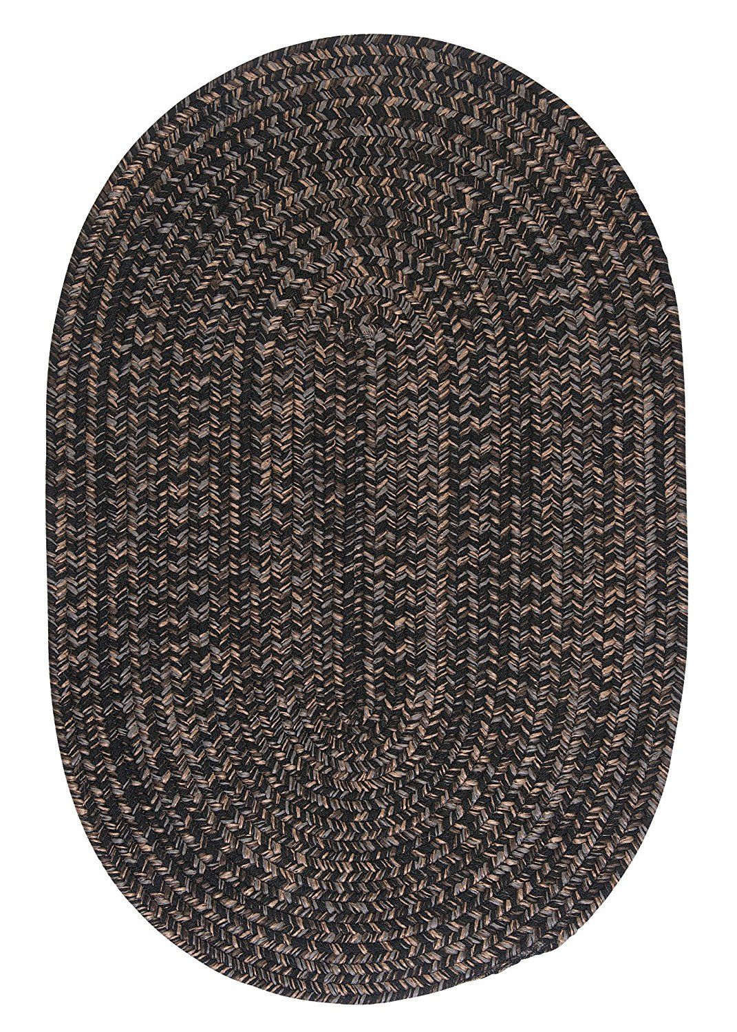 Hayward Round Area Rug 4 Feet Black Click Image For More