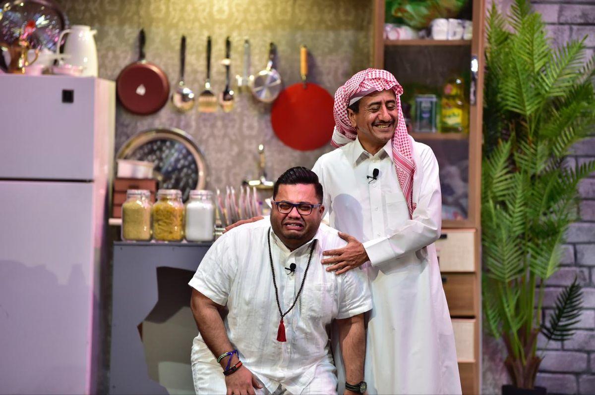 ناصر القصبي و عبدالمجيد الرهيدي Lab Coat Fashion Coat