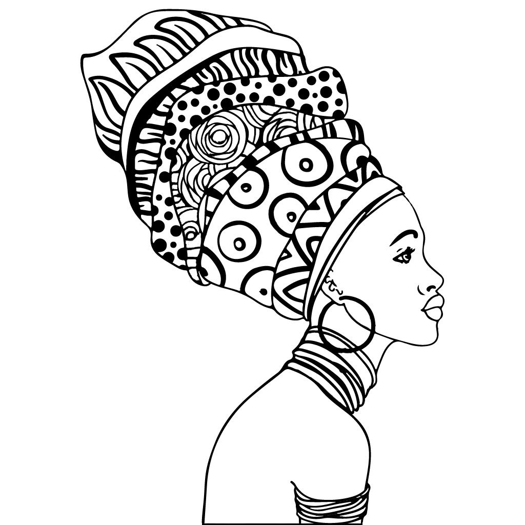 Pin By Deborah Keeton On Coloring Pages African Art African Drawings Africa Art