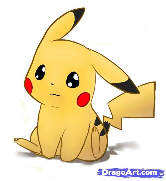 How To Draw Pikachu Pokemon Step By Step Pokemon Characters Anime Draw Japanese Anime Draw Manga Free Online Dr Pikachu Drawing Pokemon Drawings Pokemon
