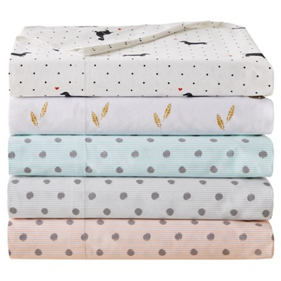Nobrand No Brand Printed Cotton Percale Sheet Sets Cotton Sheet