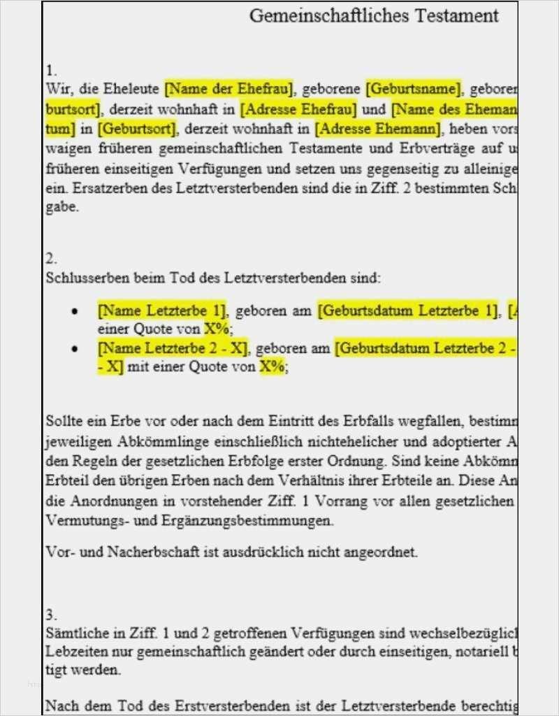 38 Grossartig Vorlage Testament Alleinerbe Bilder In 2020 Vorlagen Anschreiben Vorlage Briefvorlagen