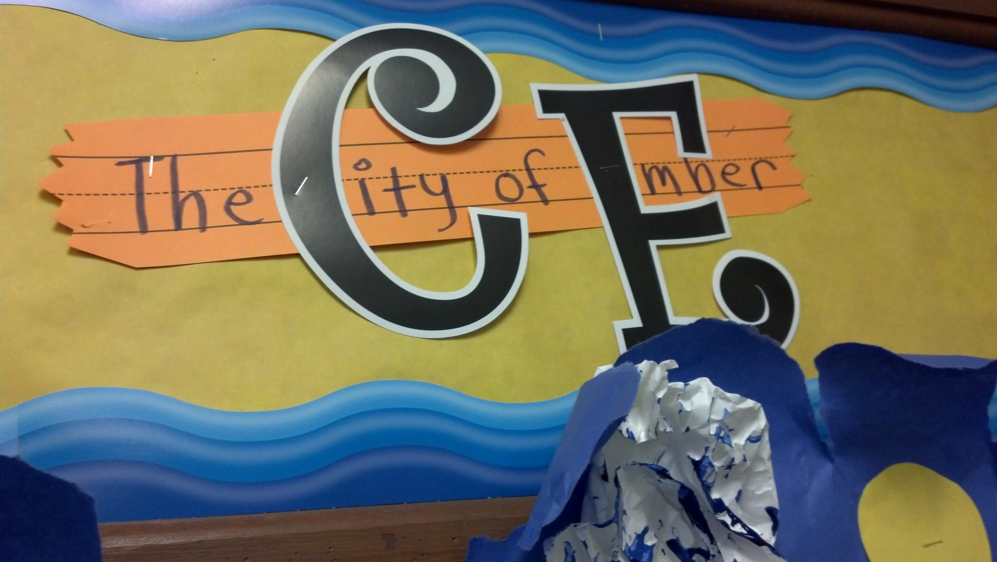City Of Ember Story Telling Bulletin Board
