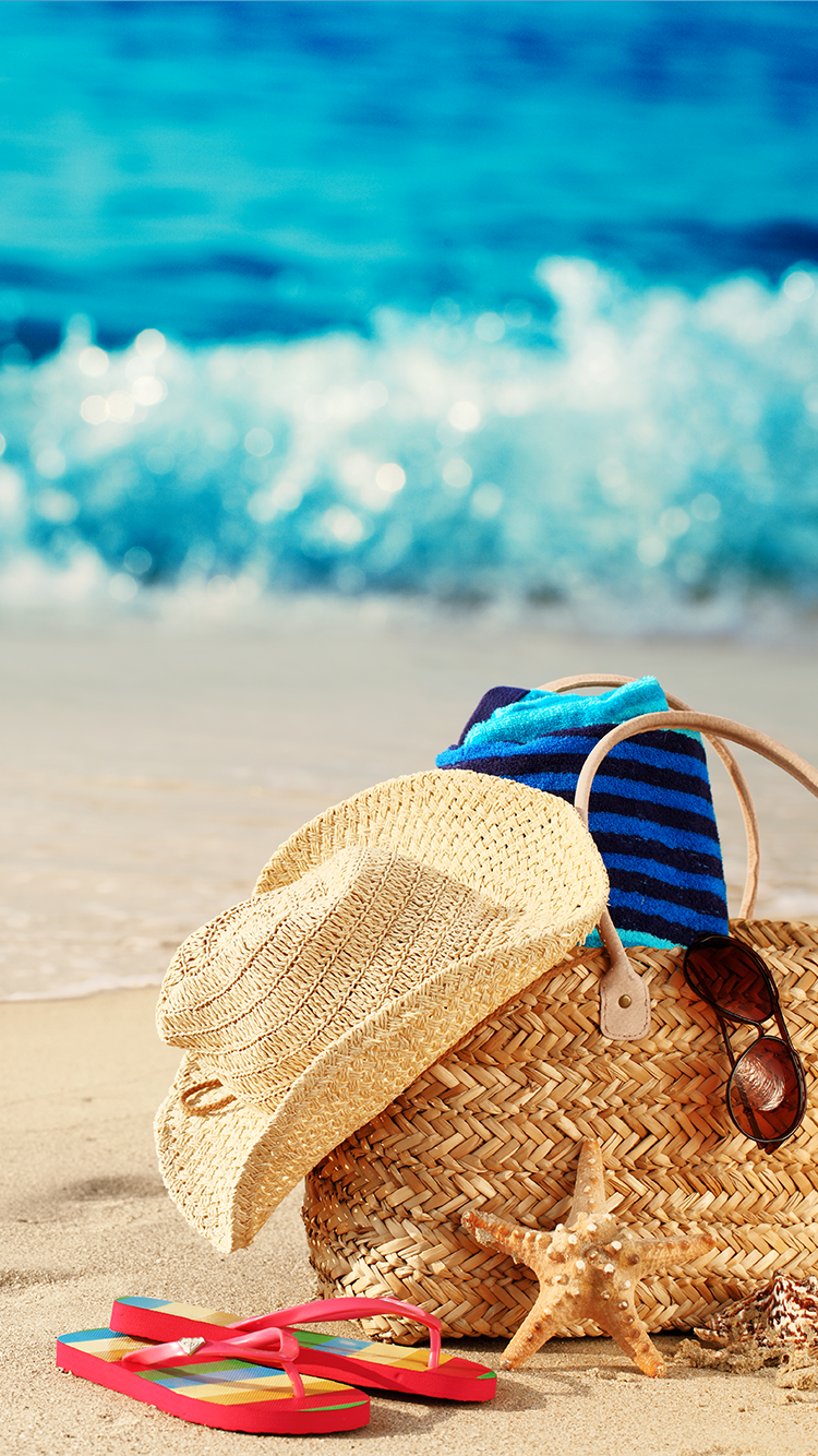 Hd wallpaper tap -  Tap And Get The Free App Art Creative Sky Bag Beach Travel Vacation App Wallpaperwallpaper Backgroundshd