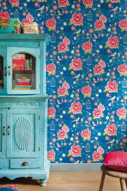 HOME \ GARDEN Wallpapers Pip Studio vs Catalina Estrada catalina - peinture sur meuble bois